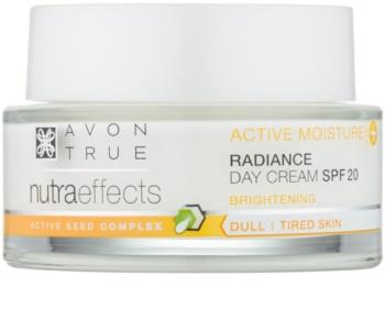 Avon True NutraEffects crema giorno illuminante SPF 20