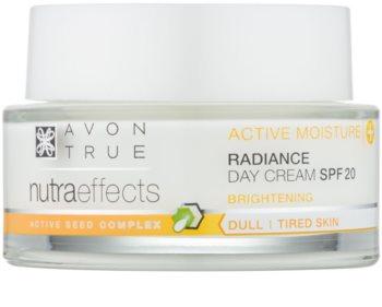 Avon True NutraEffects crème de jour illuminatrice SPF 20