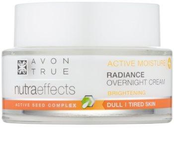 Avon True NutraEffects Uppljusande nattkräm