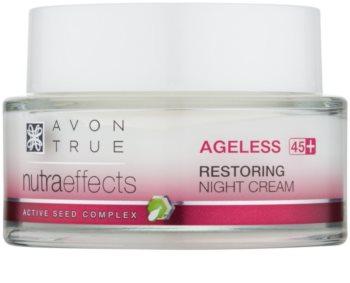 Avon True NutraEffects nočna krema s pomlajevalnim učinkom