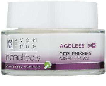 Avon True NutraEffects Föryngrande nattkräm  För hudförnyelse