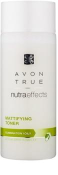 Avon True NutraEffects matující pleťová voda pro mastnou a smíšenou pleť