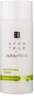 Avon True NutraEffects zmatňujúca pleťová voda pre mastnú a zmiešanú pleť
