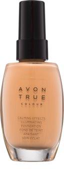 Avon True Colour Kalmerende Foundation  voor Stralende Huid
