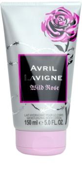 Avril Lavigne Wild Rose leche corporal para mujer 150 ml