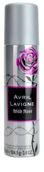 Avril Lavigne Wild Rose deodorant spray para mulheres 150 ml