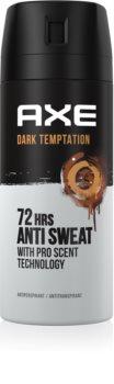Axe Dark Temptation antitranspirante em spray 72h