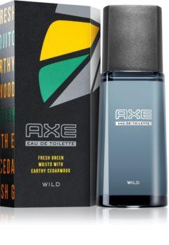 Axe Wild Green Mojito & Cedarwood Eau de Toilette für Herren