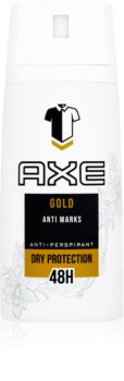 Axe Gold spray anti-transpirant 48h