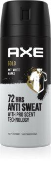 Axe Gold Antiperspirant Spray 48 tim