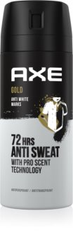 Axe Gold Antiperspirant Spray 48 timer