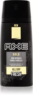 Axe Gold deodorant ve spreji