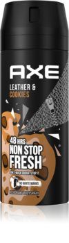 Axe Collision Leather + Cookies dezodorant i spray do ciała