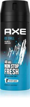 Axe Ice Chill Deodorant og kropsspray Med 48 timers effektivitet