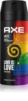 Axe Love is Love Unite Limited Edition dezodorant in pršilo za telo