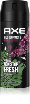 Axe Wild Fresh Bergamot & Pink Pepper déodorant et spray corps