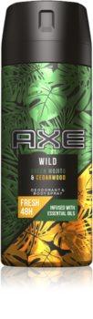 Axe Wild Green Mojito & Cedarwood spray şi deodorant pentru corp
