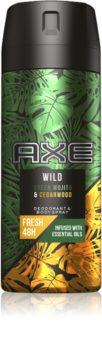 Axe Wild Green Mojito & Cedarwood дезодорант та спрей для тіла