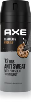 Axe Collision Leather + Cookies spray anti-transpirant