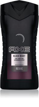 Axe Black Night gel de douche pour homme
