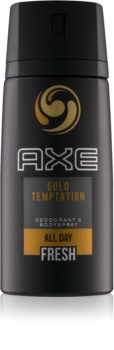 Axe Gold Temptation deodorant a telový sprej