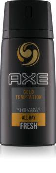 Axe Gold Temptation spray şi deodorant pentru corp