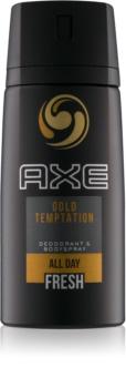 Axe Gold Temptation дезодорант та спрей для тіла