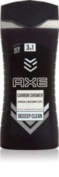 Axe Carbon gel za prhanje 3v1