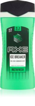 Axe Ice Breaker Douchegel en Shampoo 2in1