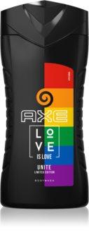 Axe Pride Love is Love Energigivende brusegel