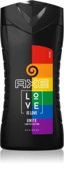 Axe Pride Love is Love gel de banho energizante