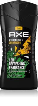 Axe Wild Green Mojito & Cedarwood Opfriskende brusegel til mænd