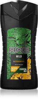 Axe Wild Green Mojito & Cedarwood gel de douche pour homme