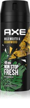 Axe Wild Green Mojito & Cedarwood déodorant et spray corps I.