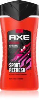 Axe Sport Refresh Artic Mint & Cool Spices osvěžující sprchový gel pro muže