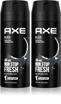 Axe Black Frozen Pear & Cedarwood Deodorant and Bodyspray (Economy Pack)