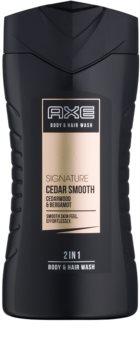 Axe Signature Cedar Smooth Duschgel für Herren