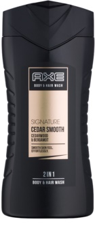 Axe Signature Cedar Smooth gel de dus pentru barbati