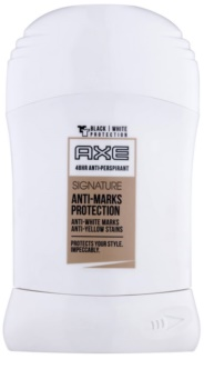 Axe Signature Anti-Marks Protection desodorante en barra para hombre 50 ml