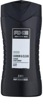 Axe Urban Carbon & Clean gel de duche para homens