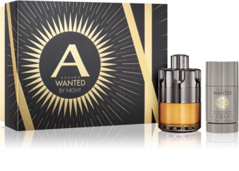 Azzaro Wanted By Night coffret cadeau pour homme
