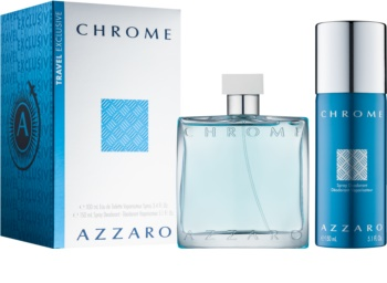 Azzaro Chrome zestaw upominkowy IX. dla mężczyzn