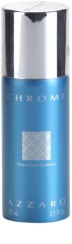 Azzaro Chrome déodorant en spray (sans emballage) pour homme
