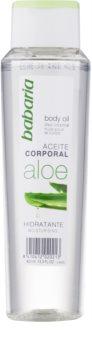 Babaria Aloe Vera óleo corporal hidratante com aloé vera