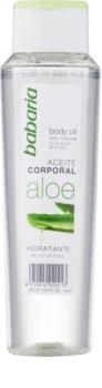 Babaria Aloe Vera olio idratante corpo con aloe vera