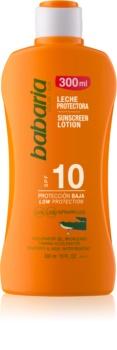 Babaria Sun Protective Water Resistant Sun Milk SPF 10