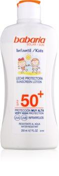 Babaria Sun Infantil crema abbronzante per bambini SPF 50+
