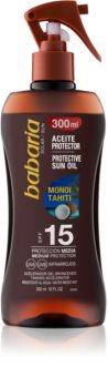 Babaria Sun Protective олио за тен SPF 15