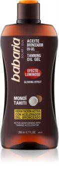 Babaria Sun Bronceadora gel éclaircissant pour stimuler le bronzage