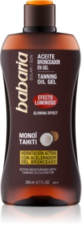 Babaria Sun Bronceadora rozjasňující gel pro podporu opálení